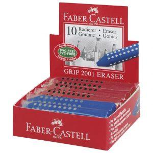 Gumica Grip 2001 Faber Castell 187101 crvena/plava