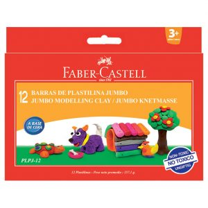 Plastelin 12boja karton Faber Castell 120811