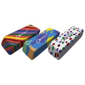 Gumica sintetička Multicolour Connect sortirano