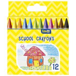 Boje voštane 12boja Color Educa