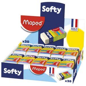 Gumica Softy s omotom Maped