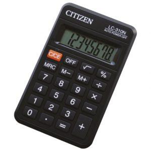 Kalkulator komercijalni 8mjesta Citizen LC-310NR crni