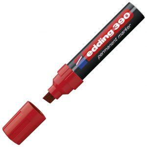Marker permanentni 4-12mm Edding 390 crveni