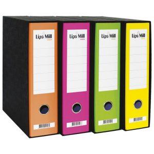 Registrator A4 široki u kutiji Lipa Mill 23488 neon zeleni