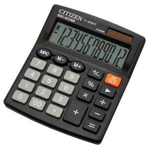 Kalkulator komercijalni 12mjesta Citizen SDC-812NR crni blister