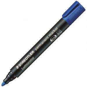 Marker permanentni 2mm Lumocolor Staedtler 352-3 plavi