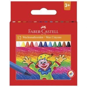 Boje voštane 12boja Faber Castell 120002