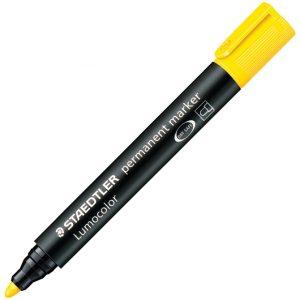 Marker permanentni 2mm Lumocolor Staedtler 352-1 žuti