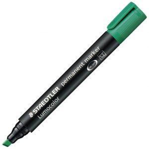 Marker permanentni 2-5mm Lumocolor Staedtler 350-5 zeleni