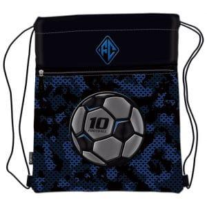 Vrećica za tjelesni Football Team Connect crno-plava