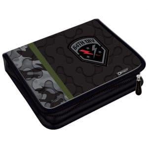 Pernica puna 1zip 2preklopa Army Camo Gray 1B Connect crno-siva
