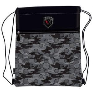 Vrećica za tjelesni Army Camo Gray Connect crno-siva