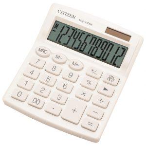 Kalkulator komercijalni 12mjesta Citizen SDC-812NRWHE bijeli blister