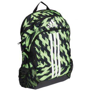 Ruksak školski-notebook Power 5 Adidas FK6907 zeleno-crni