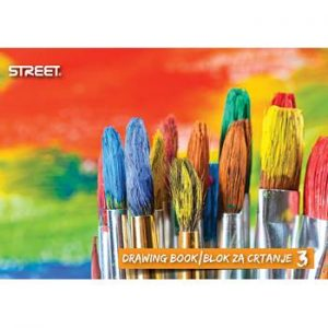 Blok za crtanje br.3 STREET
