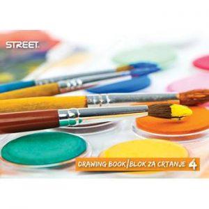 Blok za crtanje br.4 STREET