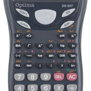 Proizvođač: OPTIMA Kalkulator OPTIMA SS-507 244fun. 25256 bls P30/60
