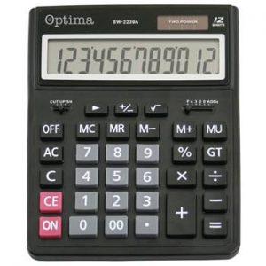 Kalkulator OPTIMA SW-2239A veliki 12mjesta 25252 bls P30/60