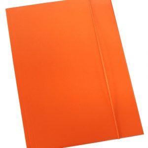 Fascikl kartonski/lak s gumicom 600gr OPTIMA