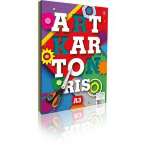 Art Karton Neon Ris A3