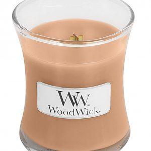 Svijeća WoodWick Midium Golden milk