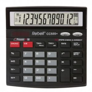 Kalkulator komercijalni Rebell CC512 black