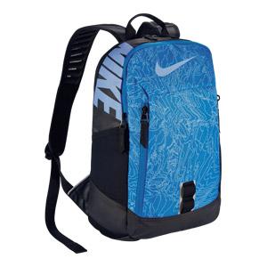 Ruksak YA Print Nike plavi