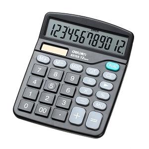 Kalkulator komercijalni 12 znamenki Deli 837ES
