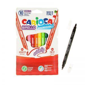 Proizvođač: CARIOCA Flomasteri 1/10 CARIOCA BIRELLO Superperivi dvostrani