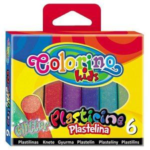 PLASTELIN COLORINO GLITTER