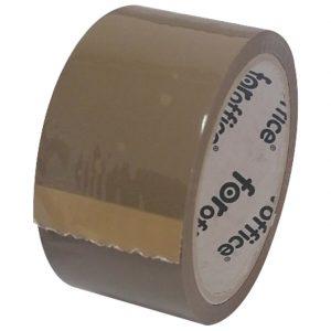 Traka ljepljiva 48mm/66m akrilna FORoffice smeđa