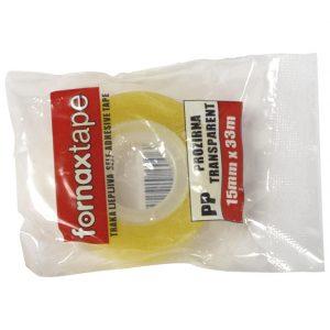 Traka ljepljiva 15mm/33m Fornax prozirna
