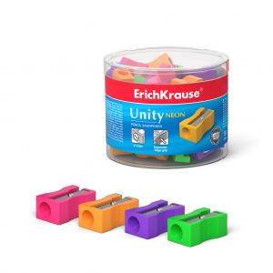 Šiljilo pvc 1 rupa ErichKrause® Unity Neon sort