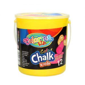 Kreda colorino Chalk jumbo 12 kom