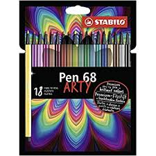 Amazon Premium-Filzstift - STABILO Pen 68 - ARTY
