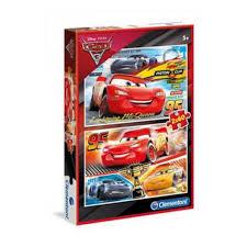 Clementoni Puzzle 2x60 Cars