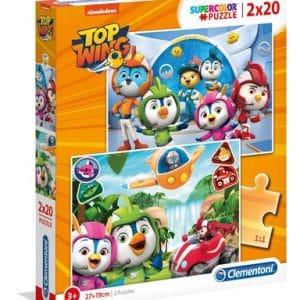 Slagalica Clementoni (Puzzle) Top Wing 2x20 komada