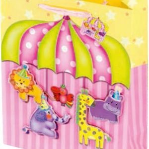 Ukrasna vrećica medium cirkus