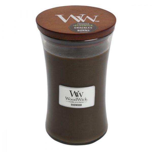 Woodwick svijeća Large, Oudwood