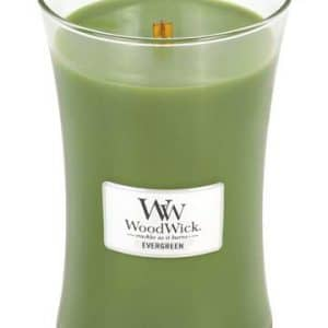 Svijeća WoodWick Large Evergreen