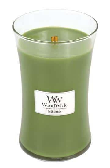 Svijeća WoodWick Large Evergreen