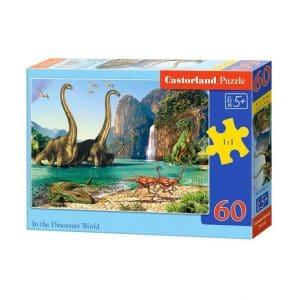 Puzzle 60 kom Svijet dinosaura