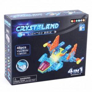 Crystal kocke -4 u 1 letjelica