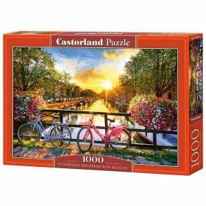 PUZZLE CASTORLAND 1000kom Amsterdam most