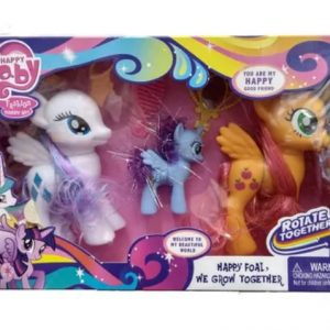 Igračka My Little Pony x 3 u kutiji s dodacima