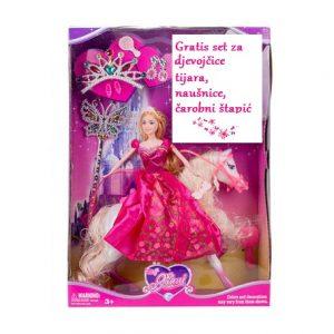 Lutka Barbie Ginny s konjem